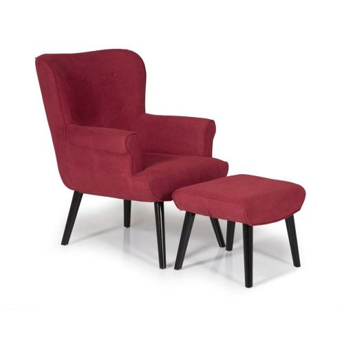 Ocassional Oban Red Occasional Chair